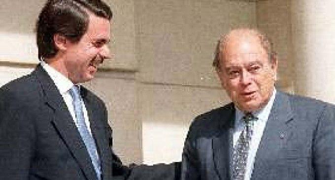 """Nuevo informe """"bomba"""" de los Pujol: Aznar cobró 1,8 millones de euros y el padre de Artur Mas, testaferro"""