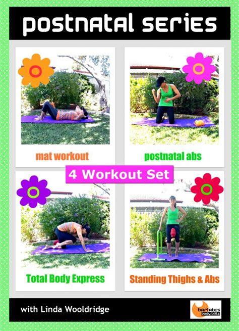 postnatal series  workout dvd