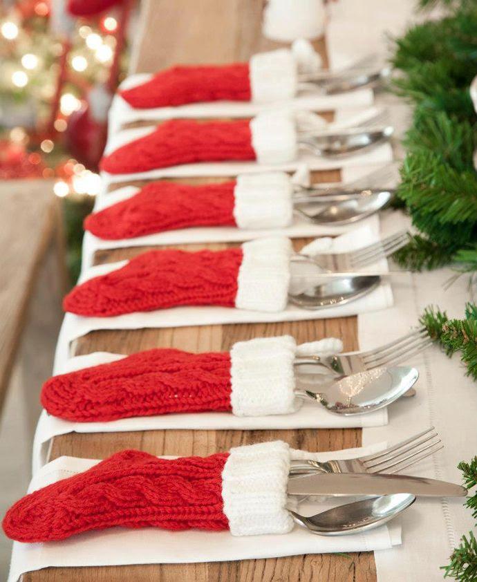 Mini stocking utensil holders