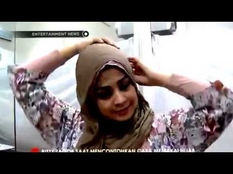 VIDEO : tutorial cara memakai jilbab hijab risty tagor -  ...