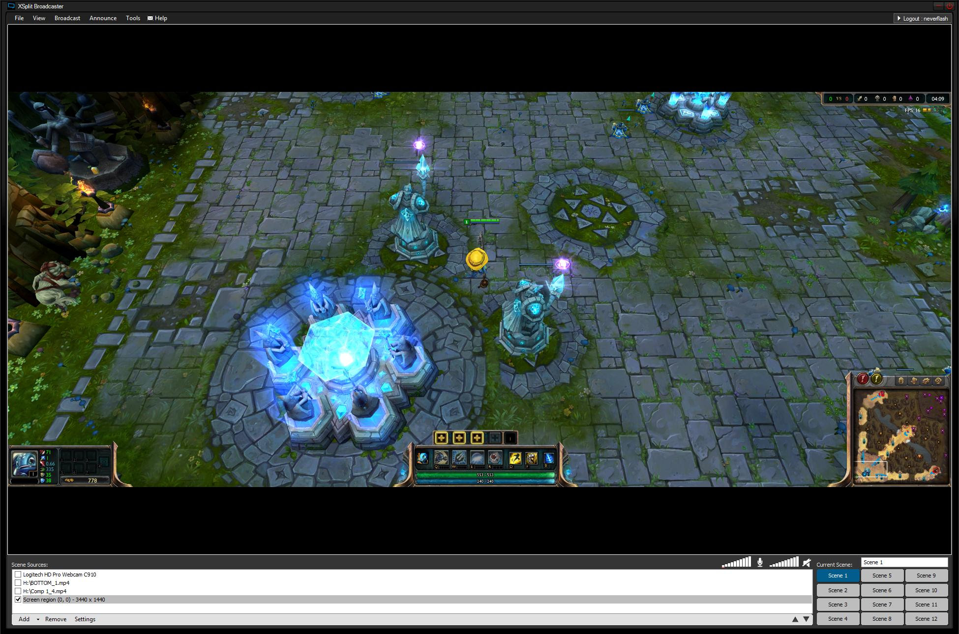 League Of Legends Monitor
