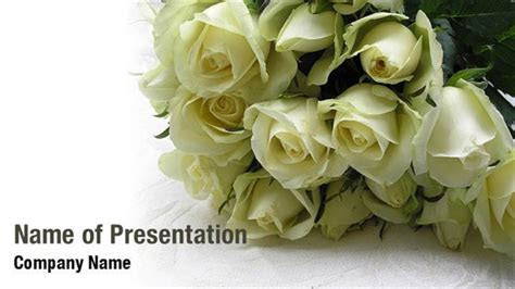 Wedding Roses PowerPoint Templates   Wedding Roses