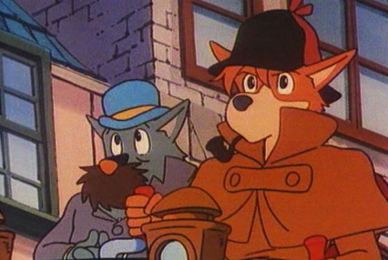 Dibujos animados de Sherlock Holmes