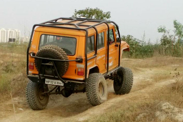 Modified Mahindra Boleros Part Ii