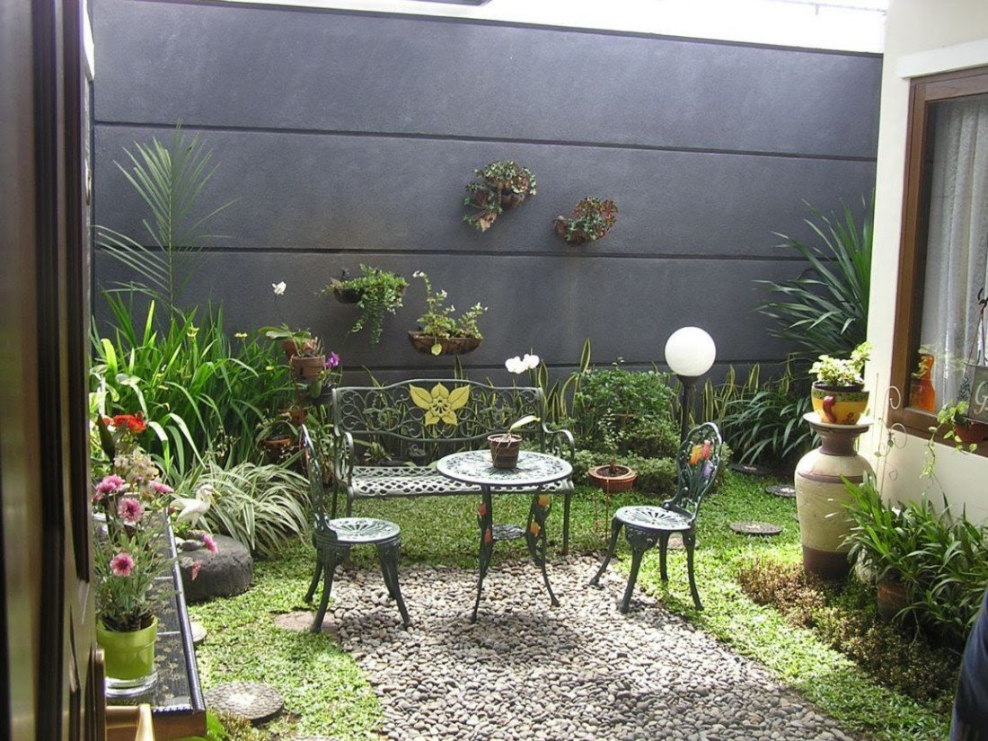 Taman Belakang Rumah Minimalis Lahan Sempit Unik Livedesaincom