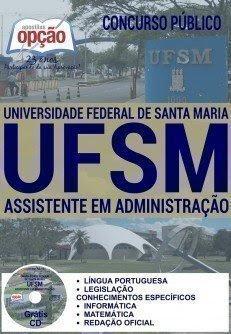 Apostila Concurso UFSM 2016 Assistente em Administração