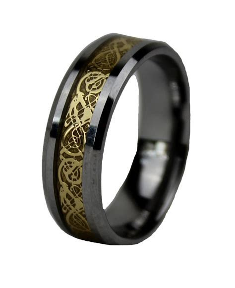 Awesome mens black celtic wedding bands   Matvuk.Com