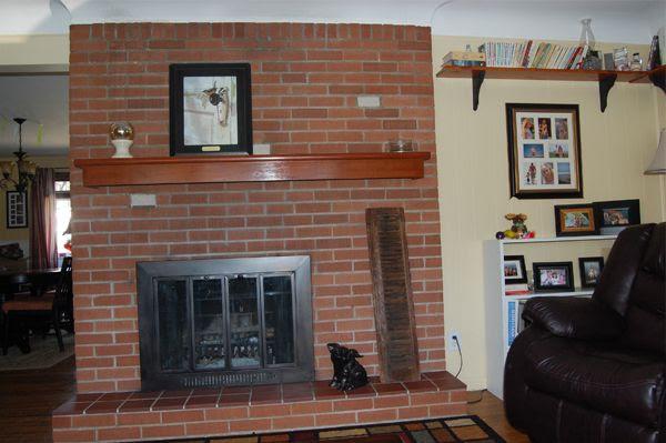 The Brick Fireplace (#2!) – Pick My Presto | The Lettered Cottage