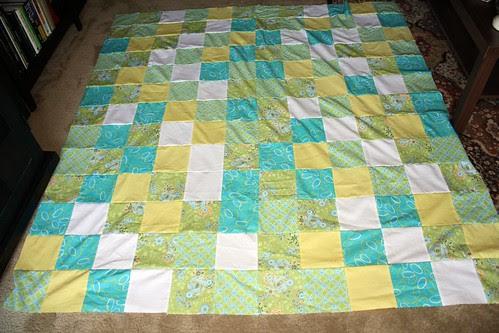 summer quilt top