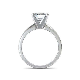 Classic Princess Cut Diamond Engagement Ring Natalie Diamonds