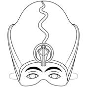 Dibujos De Máscara Para Colorear Páginas Para Imprimir Y Colorear