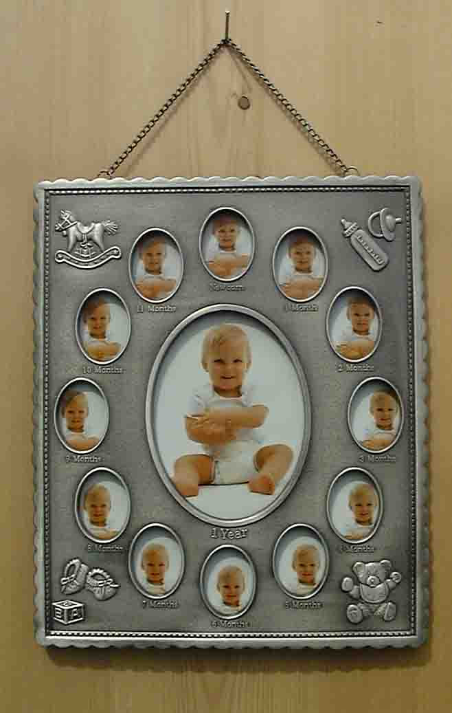Babys 1st Year Pewter Photo Frame Baby Pewter Frame Storytime