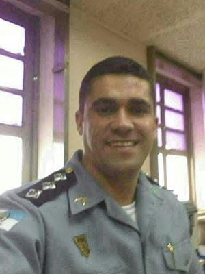 Comandante da UPP Nova Brasília morreu após tiroteio (Foto: Divulgação Polícia Militar)
