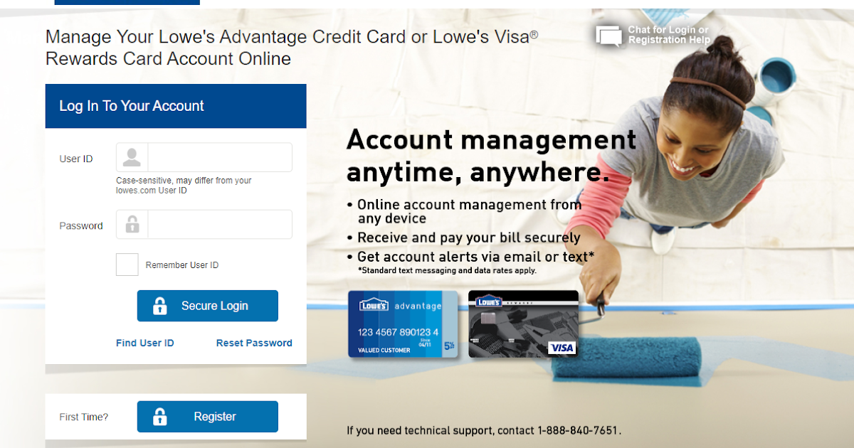 Pay My Lowes Bill Online Login - Official Login