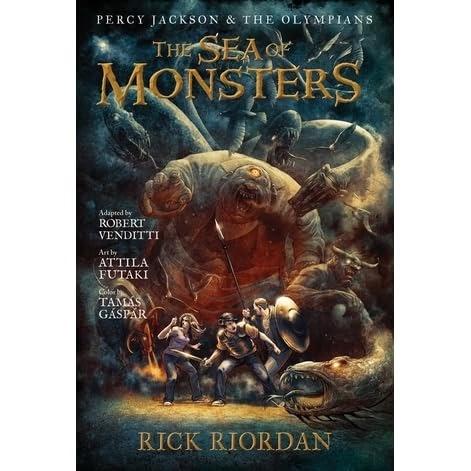 Sea Of Monsters Comic Book