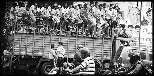 Krishna Brigade .. Dahi Handi Going To Raid - Totally Prepared Unafraid by firoze shakir photographerno1