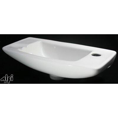 White Wall Bathroom Sink   Wayfair