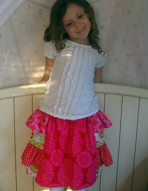 Bo Peep Skirt -- she loves it!