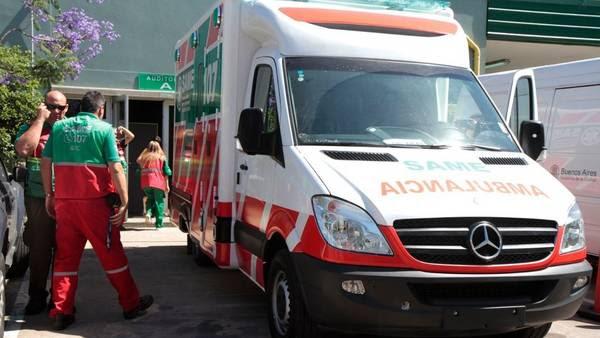 Hospital móvil. La nueva ambulancia del SAME permite atender hasta tres pacientes al mismo tiempo. (GCBA)