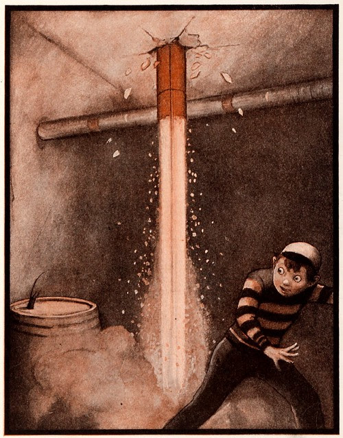 Illustrated children's book : The Rocket Book 1912 b