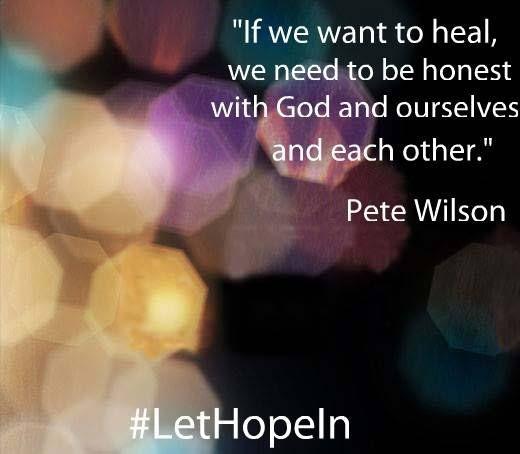 Healing.  #lethopein