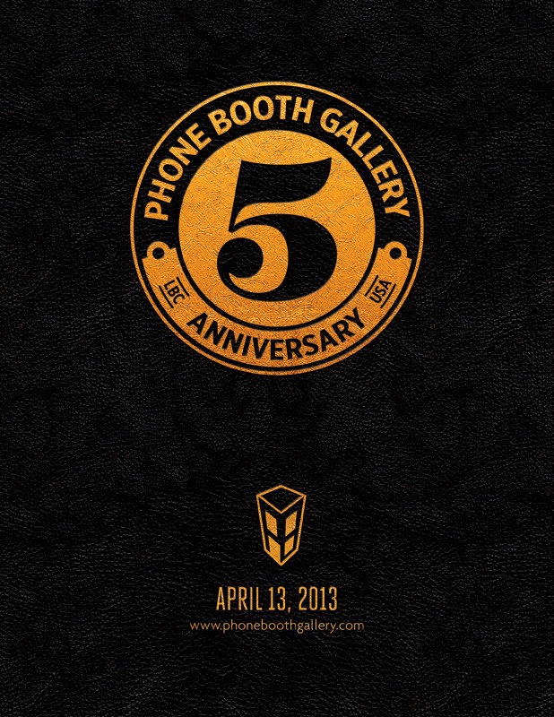 PHONE BOOTH GALLERY 5TH YEAR ANNIVERSARY GROUP SHOW
