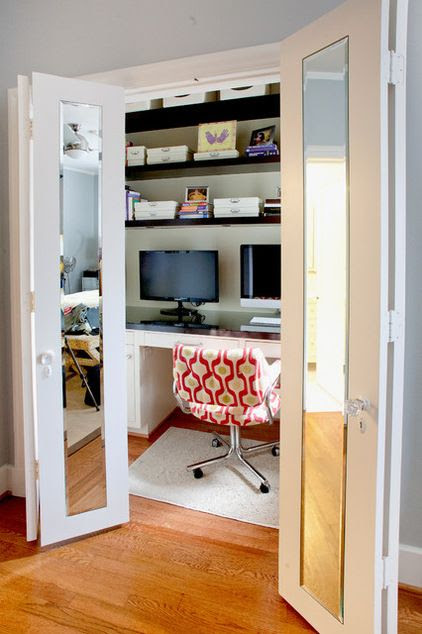 Hidden Home Office Designs