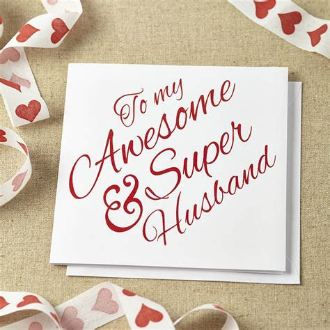 Beautiful Wedding Anniversary Cards Collection for Husband