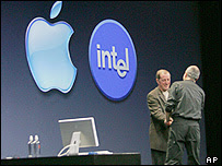 apple + intel