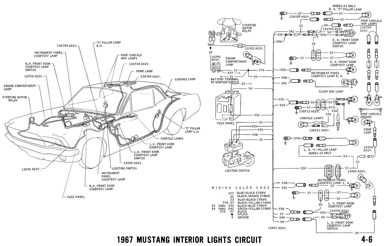 1967 Mustang Dash Light Wiring Diagram Auto Electrical Wiring Diagram