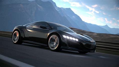 honda cars news nsx concept  debut  gran turismo