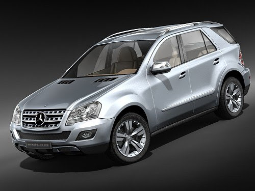 mercedes ml suv 2009 3d 3ds