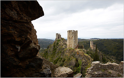 The Châteaux de Lastours, where Cathars fought a church attempt in  the 13th century to  destroy them for heresy.