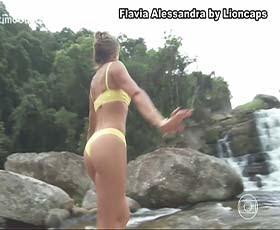 Flavia Alessandra em mais um vídeo super sensual na novela Sétimo Guardião