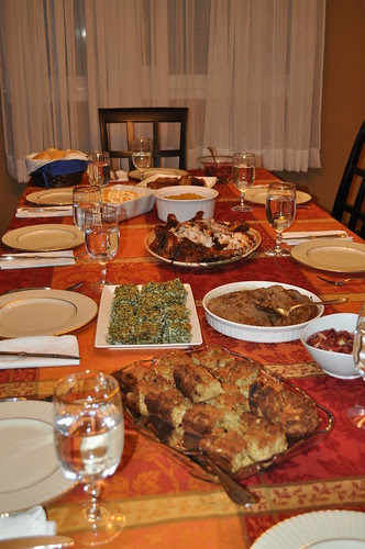 Thanksgiving Feast 2012