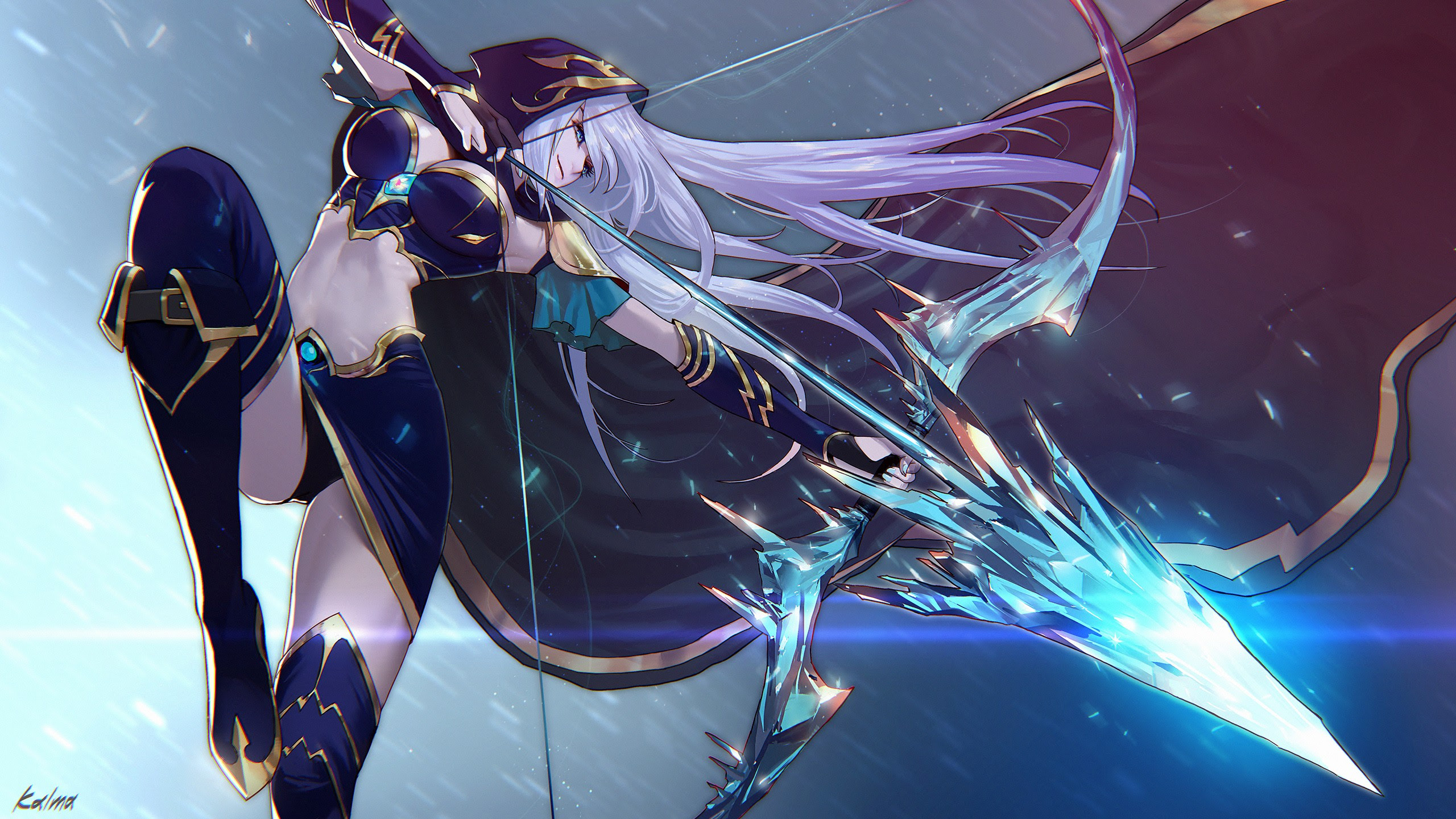 Ashe Wallpapers Fan Arts League Of Legends Lol Stats