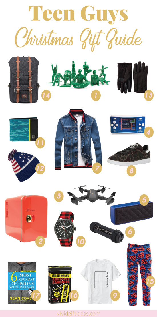 17 Best Christmas Gift Ideas For Teen Boys Vivids