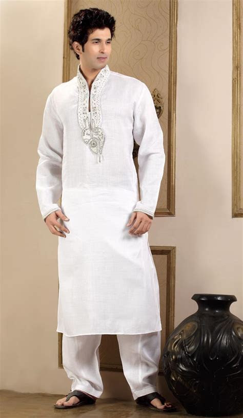 Indian Wedding Wear Kurta Pajama For Mens (3)   Kurta And