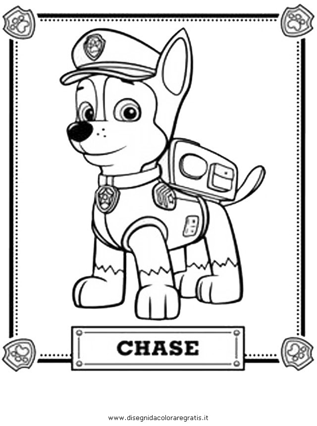 Ryder From Paw Patrol Colouring Pages Page 3 Az Colorare
