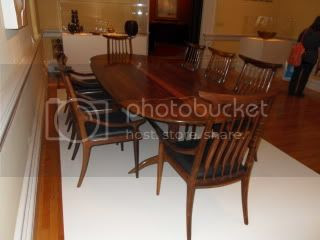 Maloof dining set