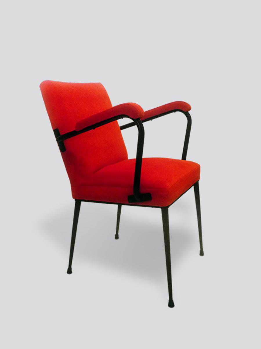 butaca vintage años 50 il guacciaro red vintage 1950s armchair il guacciaro