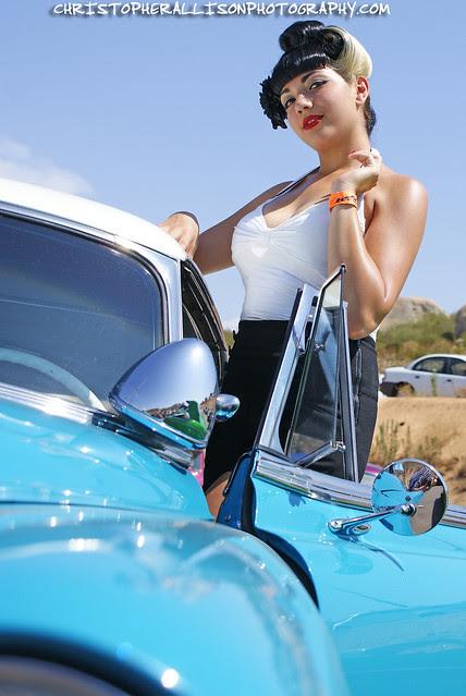 Erika - Texas Timebomb - King of Clubs Car Show