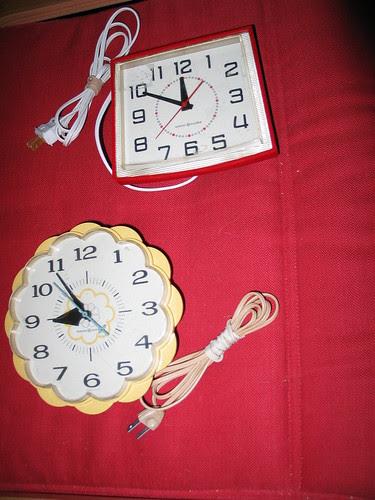 GE clocks
