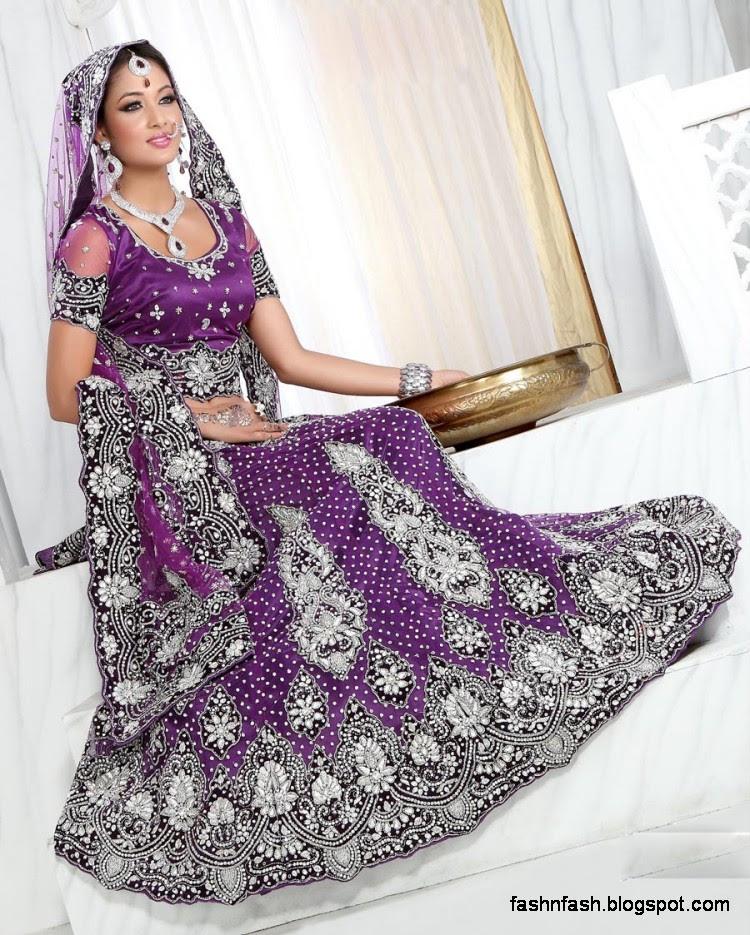 Fashion & Fok: Bridal Brides-Wedding Dress-Beautiful Indian Bridal ...