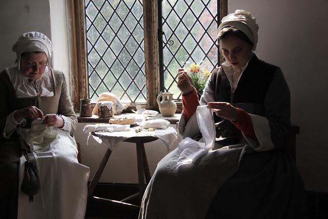 Kentwell Hall - Embroiderers' room
