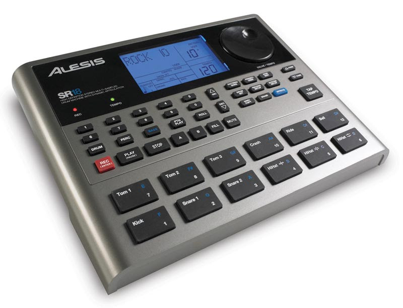 Amazon.com: Alesis SR18 Drum Machine with Effects Engine: Musical ...