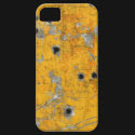 Vintage aircraft fuselage (Bullet Holes) iPhone 5 Covers