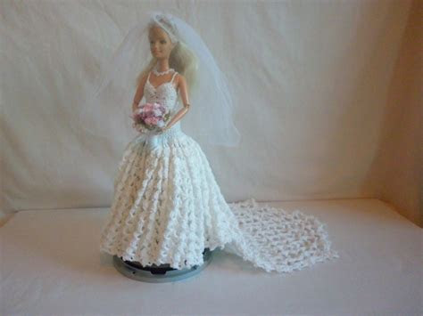 Boo Bear's Crochet Barbie Wedding Dress  46 .1 6