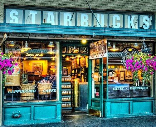 Original Starbucks, Seattle, Washington