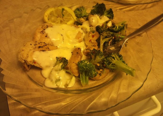 Simple Way to Make Quick Chicken and Lemon-Broccoli Alfredo *
